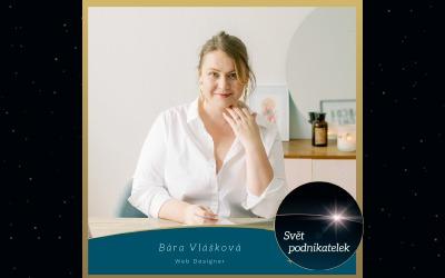 Web designérka amentorka webařek – Bára Vlášková