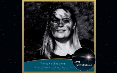 Emoční koučka atrenérka Faster EFT – Tereza Rothová